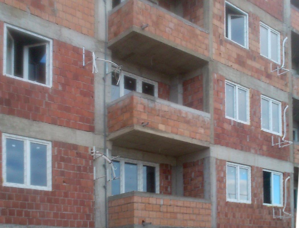 stambena zgrada ulica Vladimira Gortana pvc stolarija alphaline
