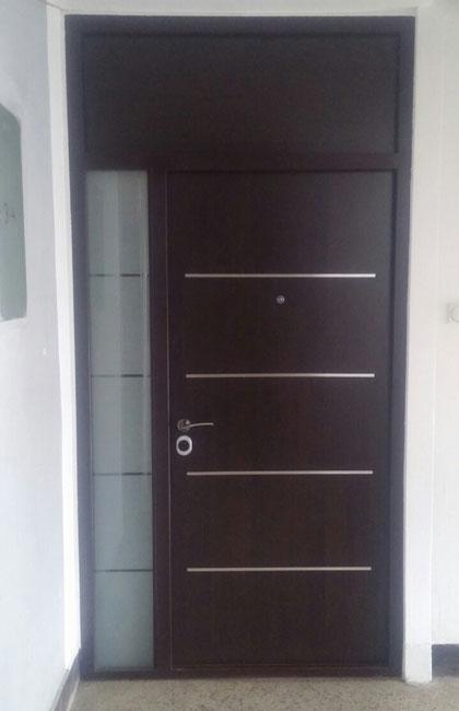 dvokrilna sigurnosna vrata